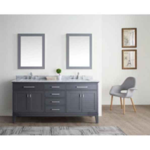 Danny 72 Quot Bathroom Vanity Maple Grey Modlar Com