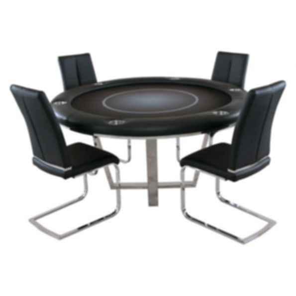 Manetho Round Poker Table