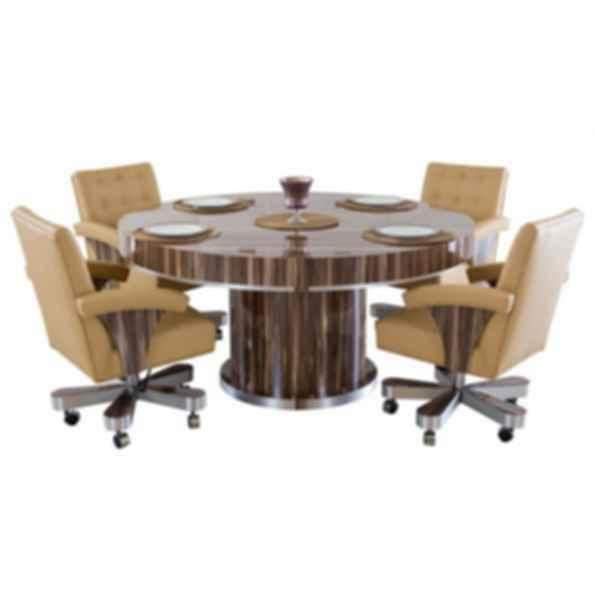 Cleopatra Round Poker Table