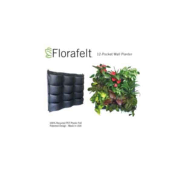 Florafelt 12-Pocket Vertical Garden Planter
