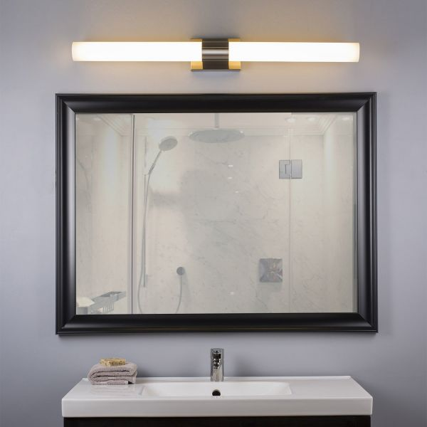 Perpetua 42 Inch Led Vanity Fixture Bar Mirror Lighting