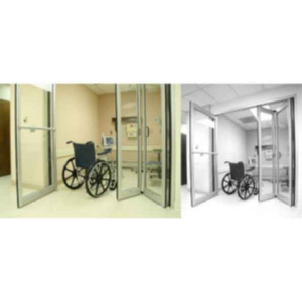 Dura-Care 7600 Hybrid Swing/Fold Door System