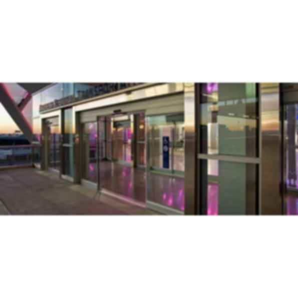 Dura-Glide 2000 and 3000 All Glass Automatic Sliding Door Series
