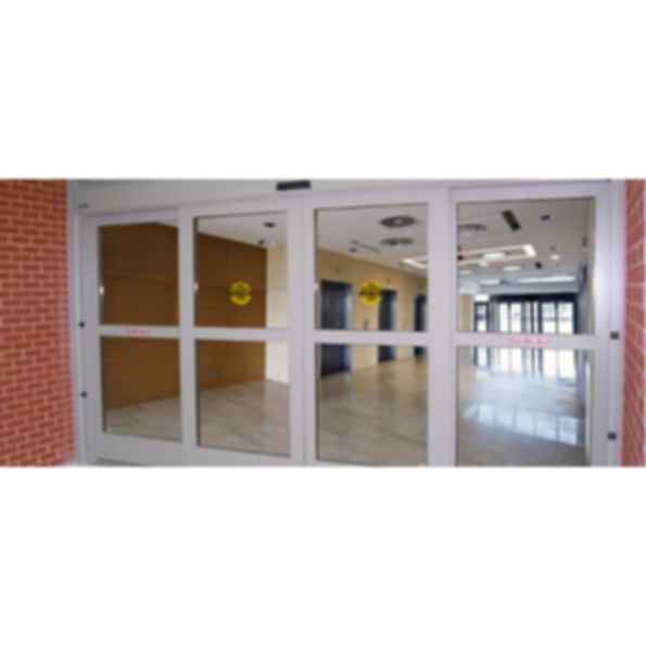 Dura shield blast resistant automatic sliding door system for Insulgard security products