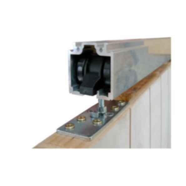 CS Top Mount Track Sliding Door Hardware