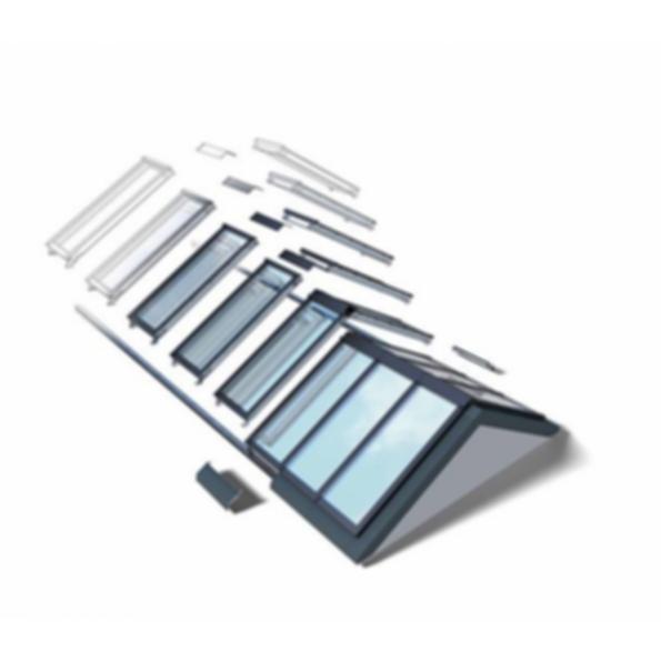 VELUX Ridgelight 25-40 Self-Supporting Skylights