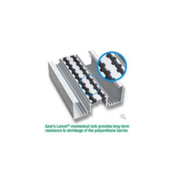 TU24000 Dual Pocket Poured & Debridged Thermal Storefront