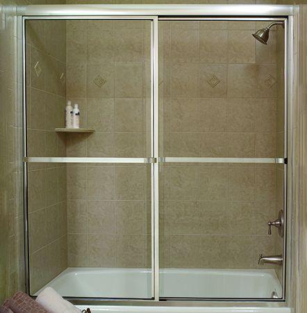 Crystalline Framed By Pass Shower Door Modlar Com