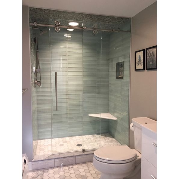 1000 Series Frameless Shower Door - modlar com