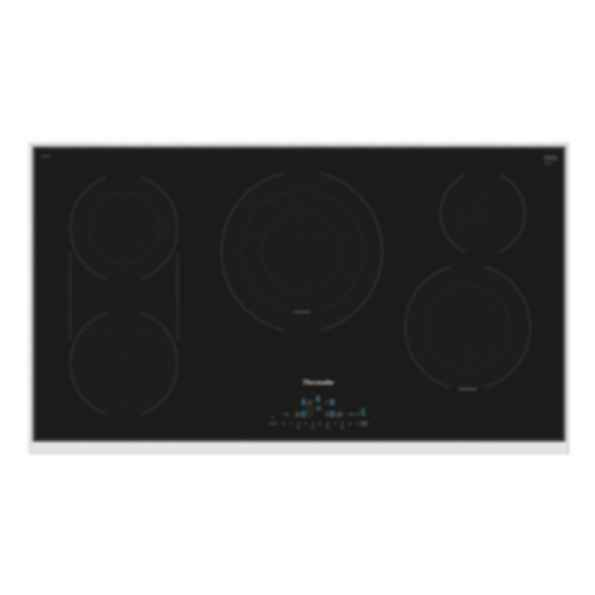 36 inch Masterpiece Series Electric Cooktop CET366TB