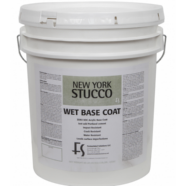 New York Stucco Wet Base Coat