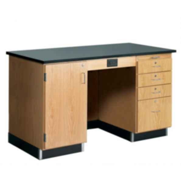 1214KF-L - 5' Instructor's Desk