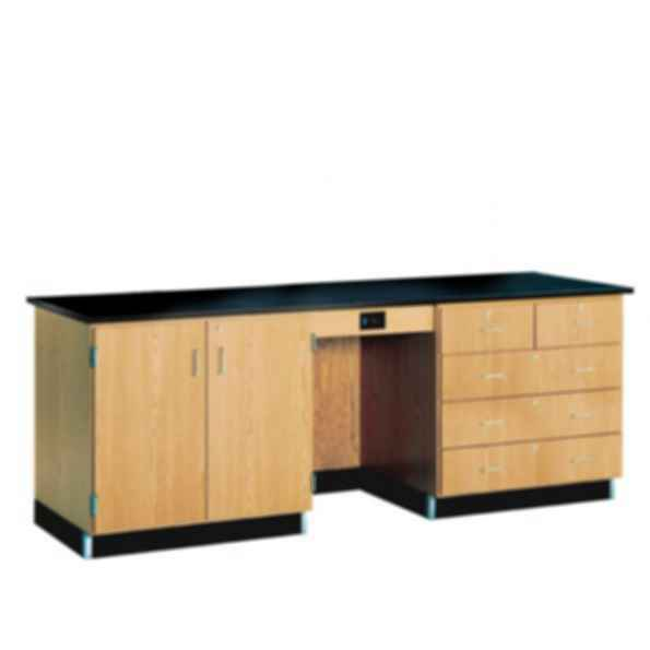 1116KF - 8' Instructor's Desk with Flat Top