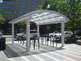Arlington Model Bike Shelter