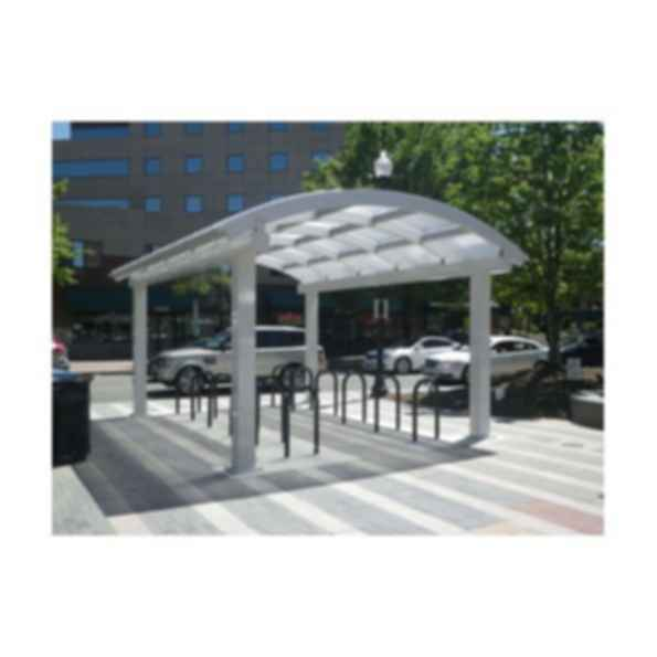 Arlington Model Bike Shelter