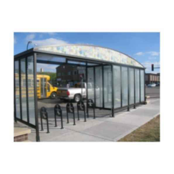 Custom Model Bike Shelter