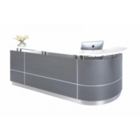 Maddock 3 Curved Reception Counter