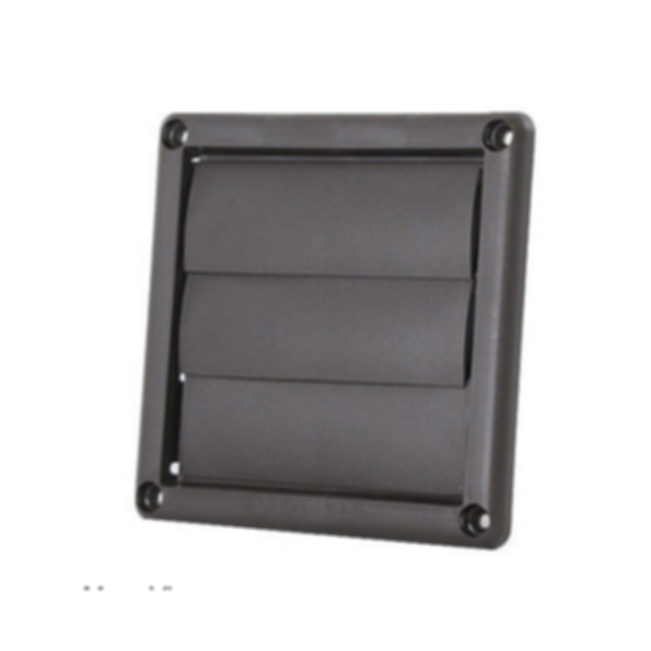 LH Plastic Wall Vents with Movable Louvers