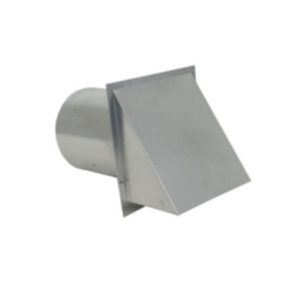 DWVG Galvanized Wall Vent with Damper