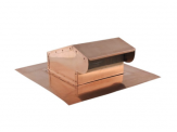 BKCU Bath Fan or Kitchen Exhaust Copper Roof Vent