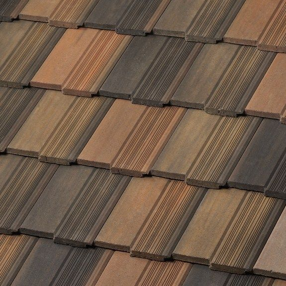 Saxony 900 Split Old English Thatch Toffee Roof Tiles