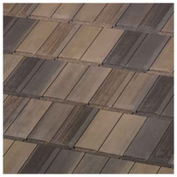 Saxony 900 Split Shake - Charcoal Brown Blend Roof Tiles