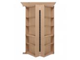 Bi Folding Oak Hidden Door