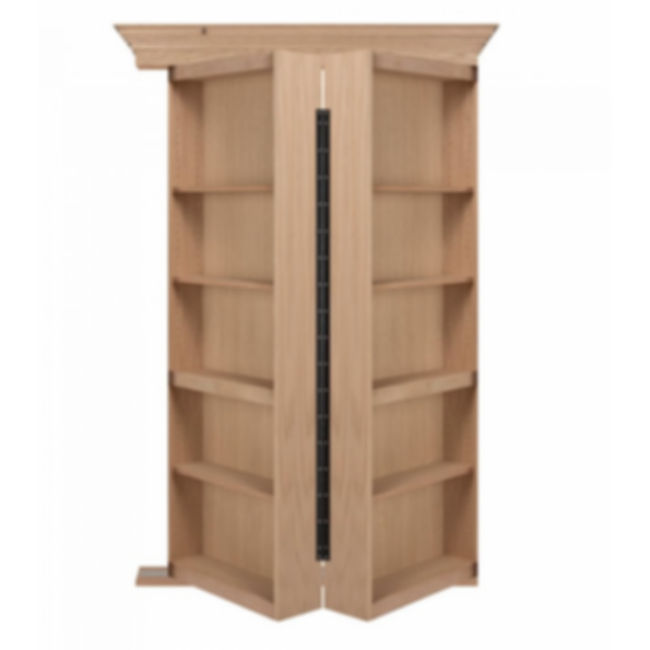 Bi Folding Oak Hidden Door