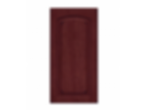 Solid PWC6 Arch Burnished Cabernet Raised Panel
