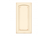 Solid PWC6 Arch Distressed Biscotti Raised Panel