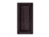 Solid PWC6 Arch Slate Raised Panel