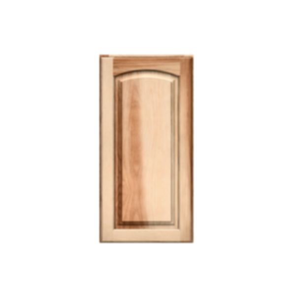 Solid PWC6 Arch Natural Raised Panel