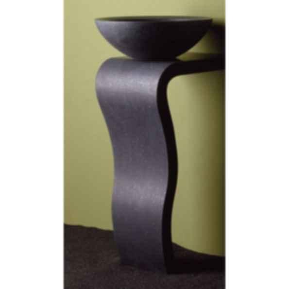 Wave Sink Pedestal