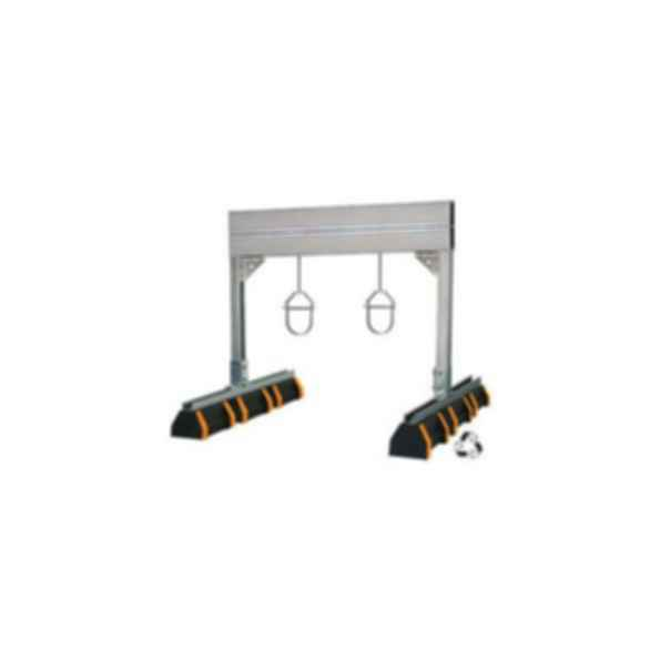 "HBS-PH 36"" Heavy Duty Pipe Hanger Support With Safety Orange"