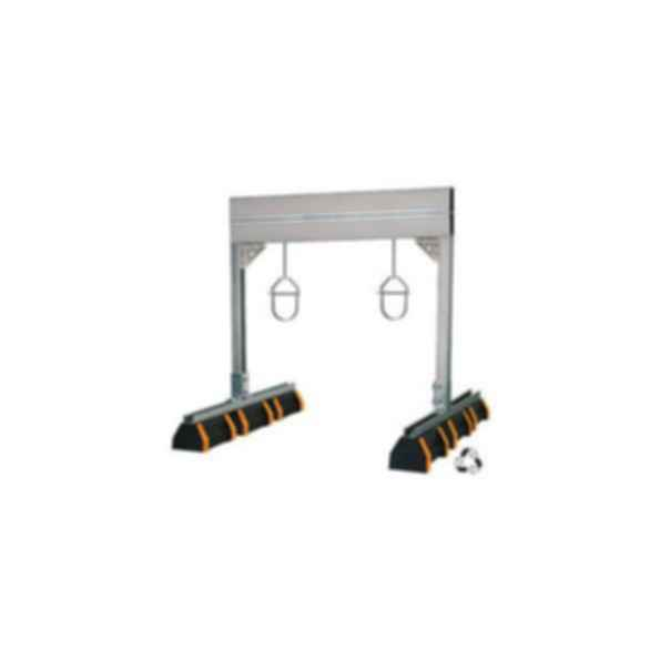 "HBS-PH 48"" Heavy Duty Pipe Hanger Support with Safety Orange"