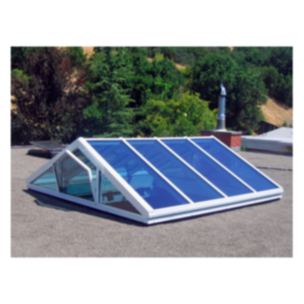 Multi-Lite Ridge Skylight