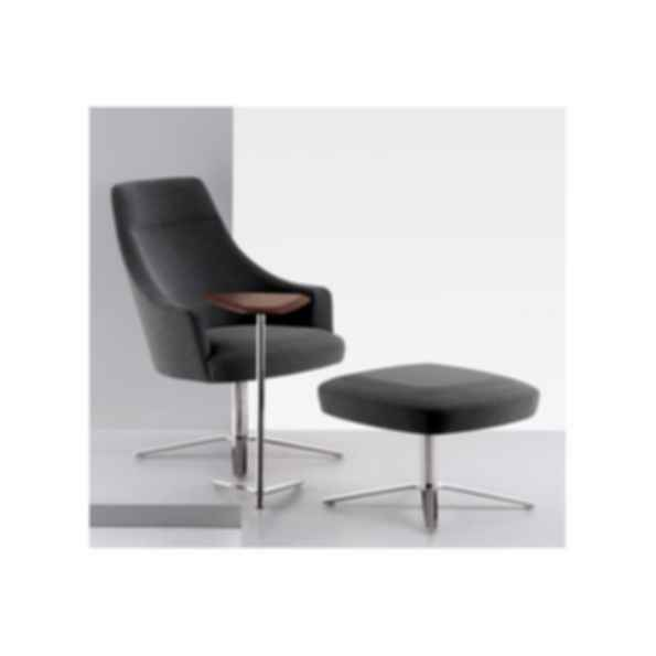 Clover Swivel Lounge Chair