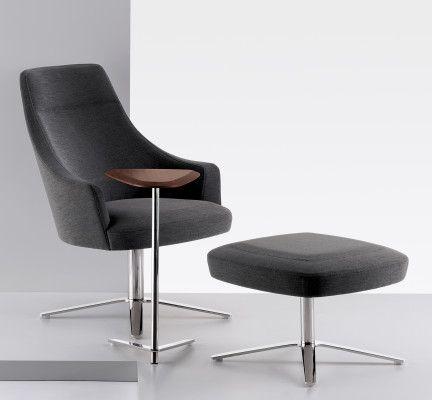 Clover Swivel Lounge Chair Modlar Com