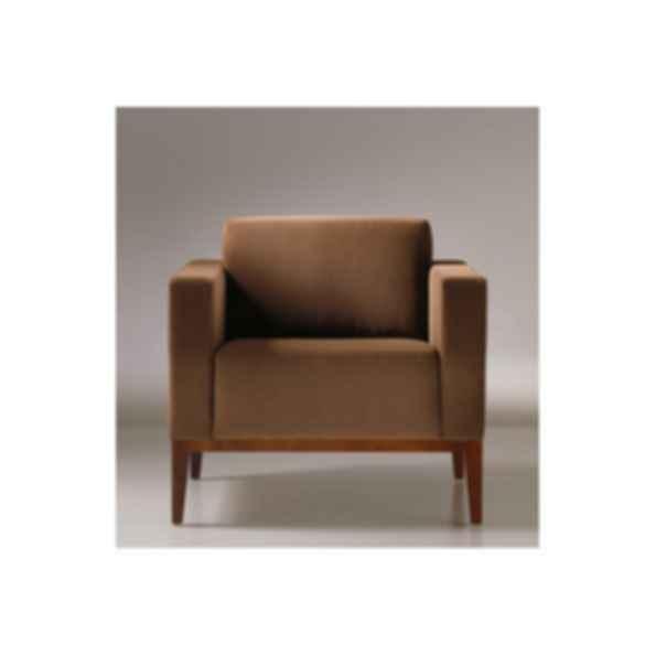 Alia Wood Lounge Chair