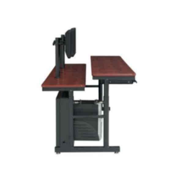 Split Level Adjustable Computer Table