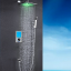 Flavia Digital Color Changing LED Rainfall Shower Set