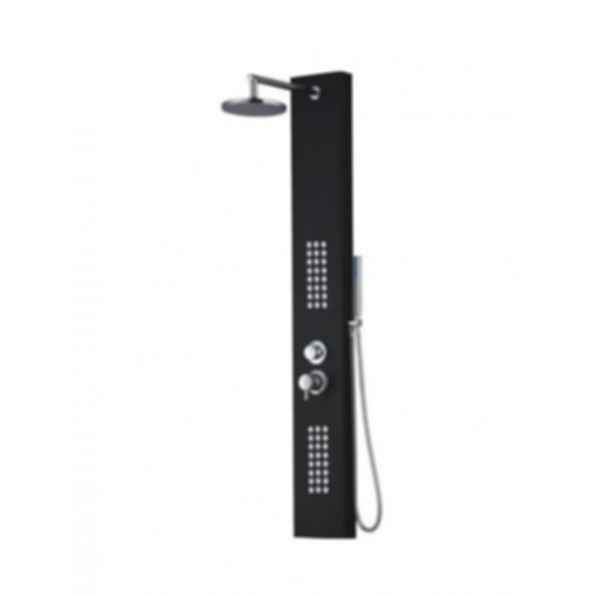 """Fontana 61"""" Stainless Steel Massage Shower Panel with Flexible Hand Shower"""