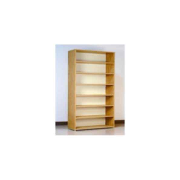 7 Tier Open Shelf File Cabinet