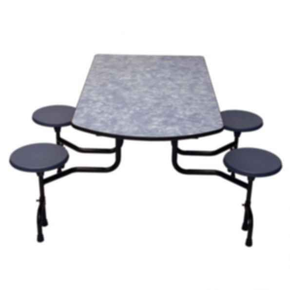 "TC-65 Associate ""D"" Shape Top Table"