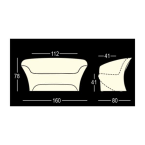 Ohla LED Sofa