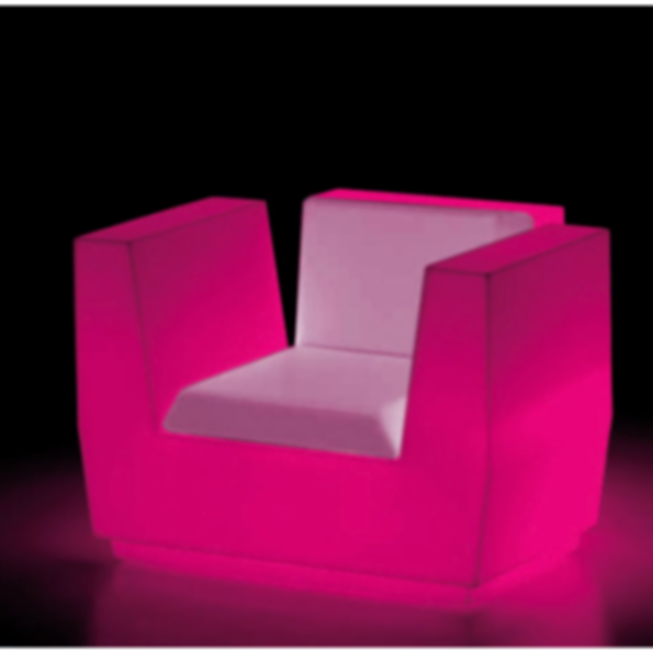 Big Cut LED Armchair