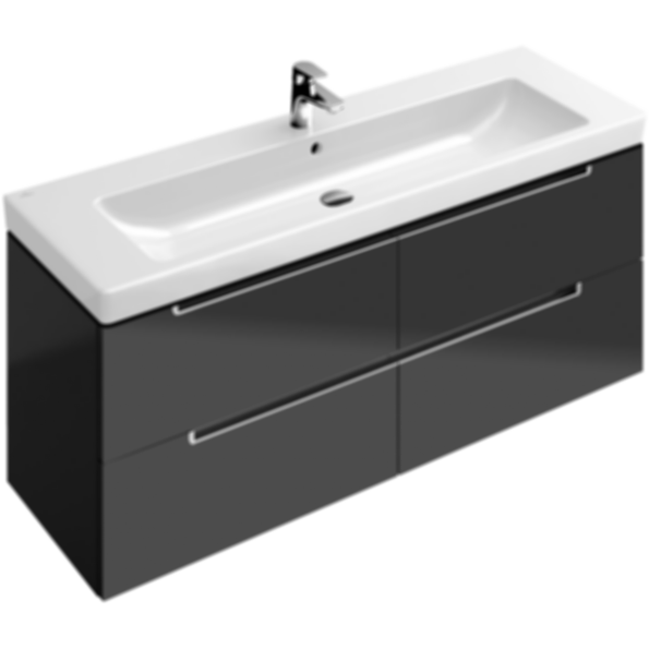 Subway double vanity unit - Villeroy et boch salle de bain prix ...