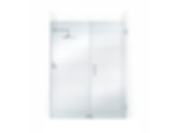 ValueLine Frameless Swing Shower Door