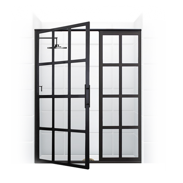 True Divided Light Swing Shower Door