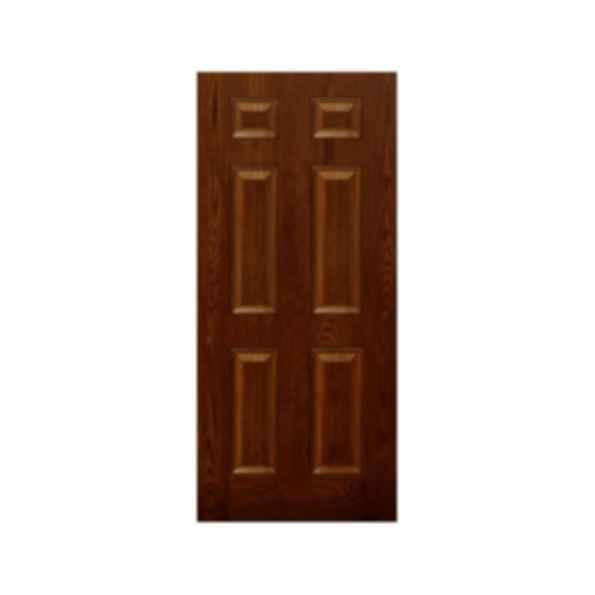 Oak Grain 6 Panel Doors